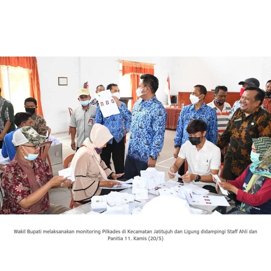 Monitoring Pilkades di Kecamatan Jatitujuh dan Ligung