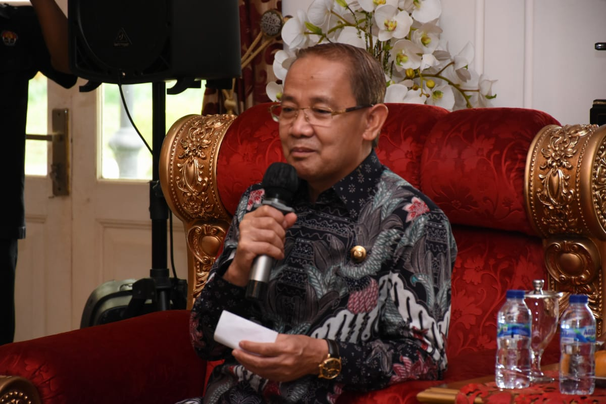 Silaturahmi Dengan Kapolres Baru Majalengka AKBP Syamsul Huda