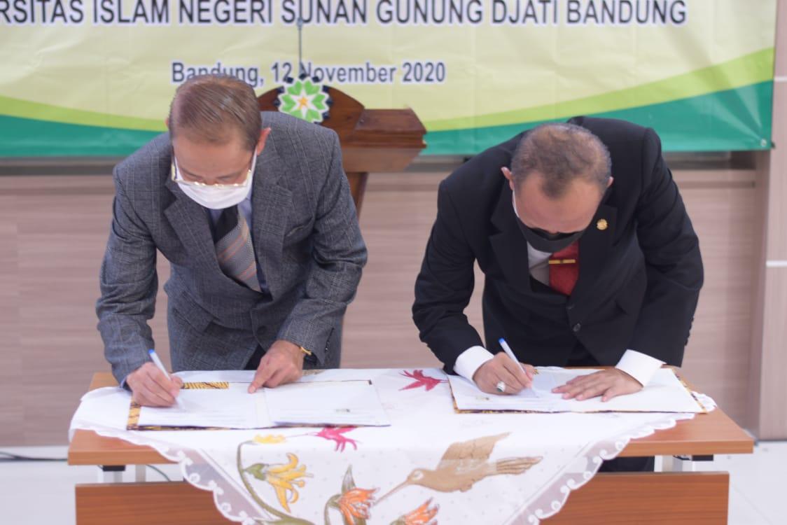 Bupati Tandatangani MOU dengan UIN Bandung
